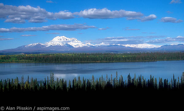 This Central Alaska lake is located in a lightly populated part of the state.
