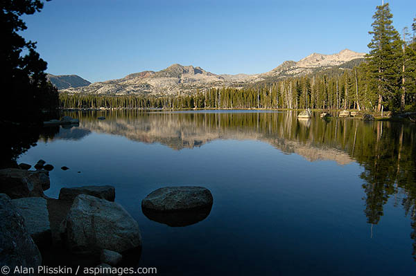 Late afternoon in the Desolation Wilderness near Lake Tahoe.