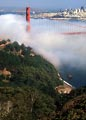 In summer, fog acts like a natural air conditioner as it rolls in through the Golden Gate almost every afternoon.