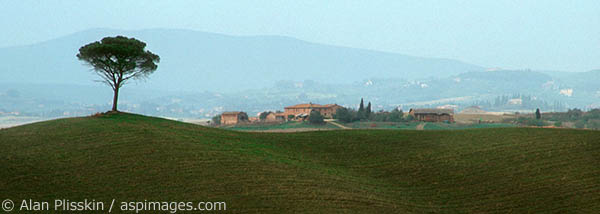 Panoramic view of the Umbria Region.