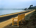 I thought this bench along the Bay in Tiburon makes for a tranquil scene.